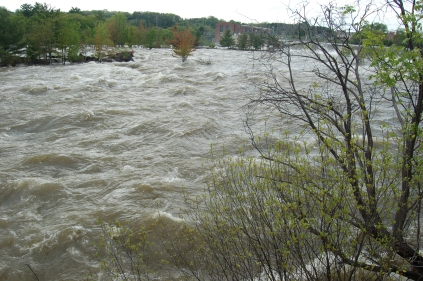 freshet at Amoskeag