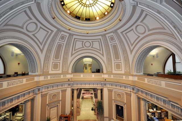 rotunda Manchester Public Library