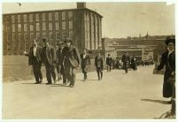 Amoskeag Mill Workers at Noon, 1909