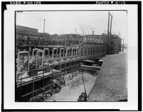Construction in Millyard, 1899- LOC