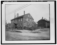 Amoskeag Worker Housing, early 1900's- LOC