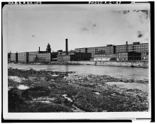 Jefferson Mill from West Side of River, 1900- LOC