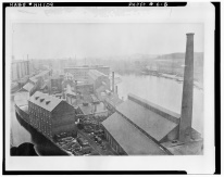 Millyard and Canal 1880- LOC