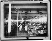 Weave Room, 1900- LOC