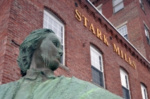 Mill Girl statue