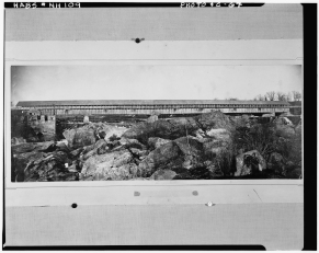 LOC 1871 dam falls picnicers