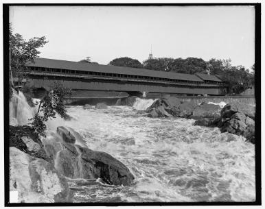 LOC Amoskeag Falls