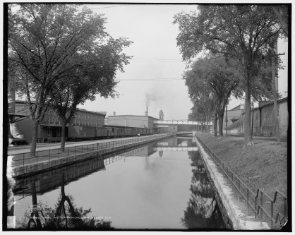 LOC canal and mills