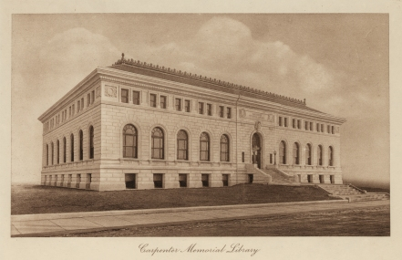 LOC Carpenter Memorial Library 1916
