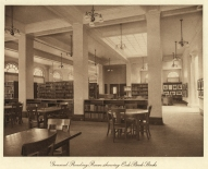 LOC MPL main reading room oak stacks 1916