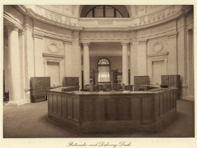 LOC MPL Rotunda and Delivery desk